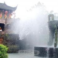 黄龙溪水景