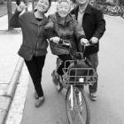 共享单车!