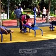 公园健身场